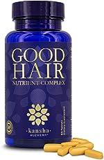 Good Hair Growth Vitamins for Women and Men, Biotin Vitamins for