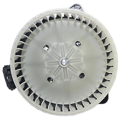 Amazon com: cciyu HVAC Heater Blower Motor with Wheel Fan