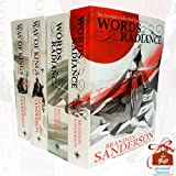 Brandon Sanderson The Stormlight Archive Series 4 Books Bundle Collection With Gift Journal