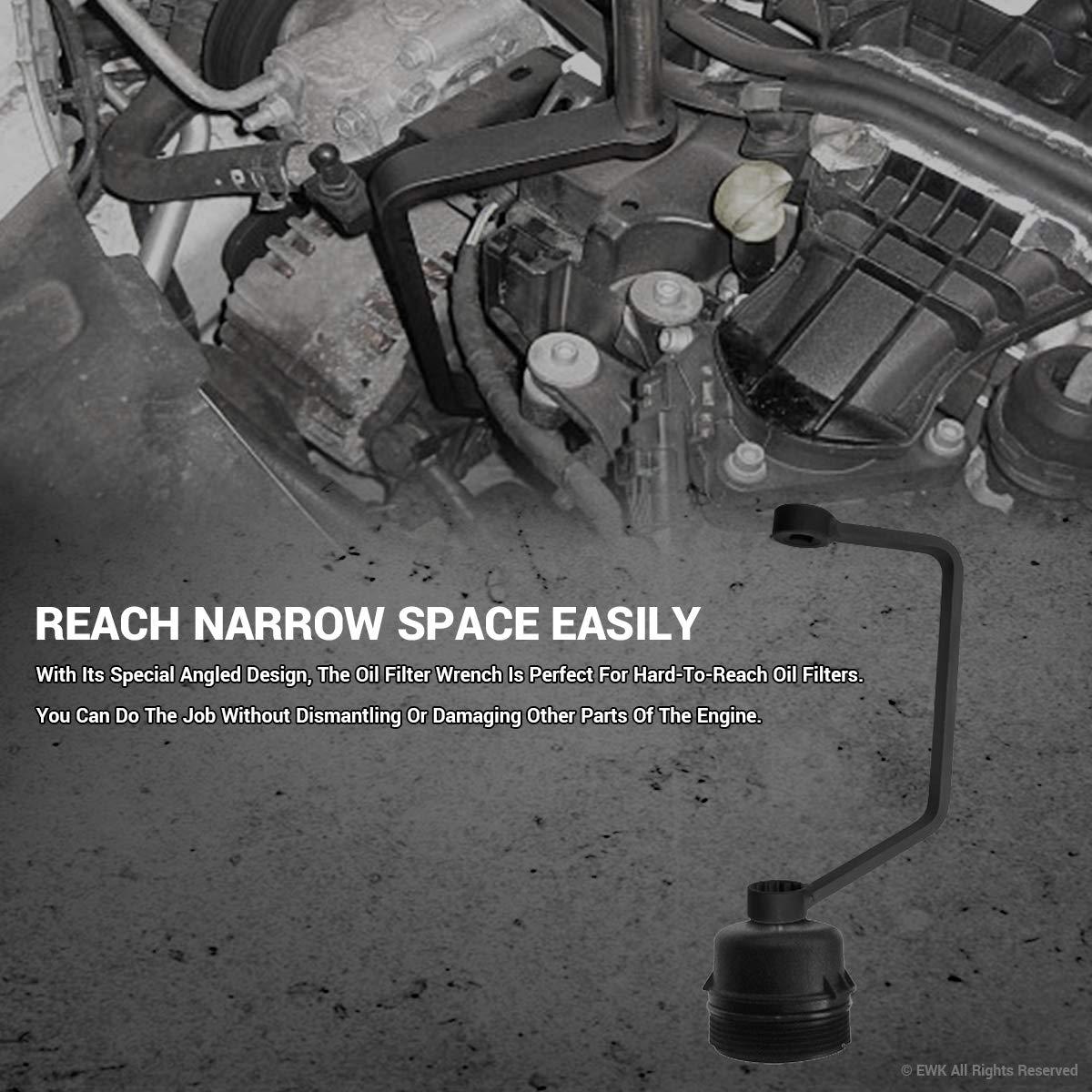 EWK oil filter housing strumento di rimozione per Ford