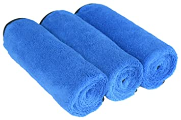 [SINLAND] microfibra limpieza toallas de lavado de coches engrosamiento de absorbente bayeta de limpieza 40cmx60cm: Amazon.es: Coche y moto