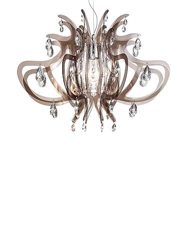 Slamp Lampada a Sospensione Lillibet fume\' 66 cm: Amazon.it ...