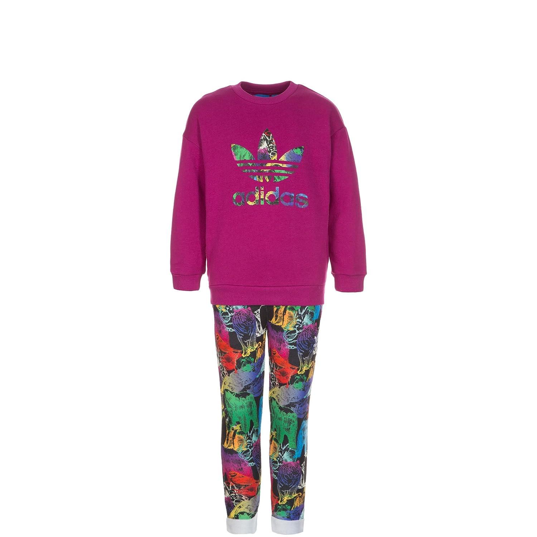 Adidas Sudadera para niñ os Baby Animal Crew, Pink/Bunt adidas Originals