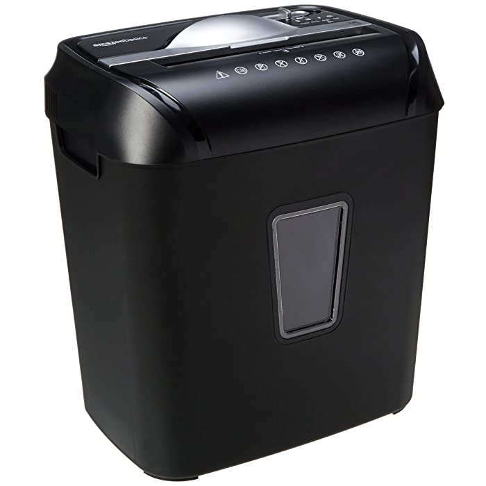 AmazonBasics 12-Sheet Cross-Cut Paper/Credit Card Shredder