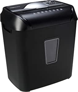 AmazonBasics 12-Sheet Cross-Cut Paper and Credit Card Home Office Shredder