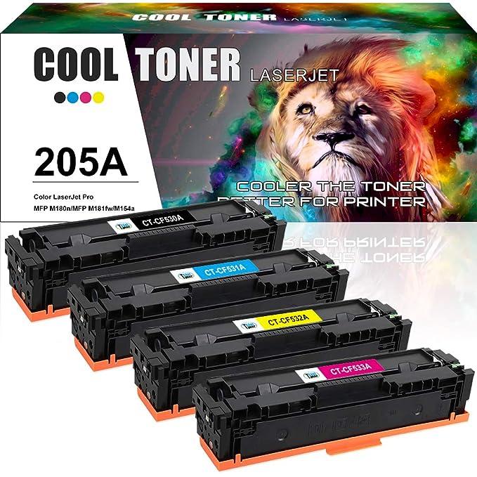 Cartucho de tóner de Repuesto Compatible con HP 205A CF530A CF531A ...