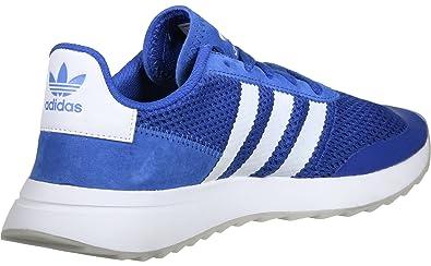 e63b72c94179 adidas Womens Originals Womens Flashrunner Trainers in Blue-White - UK 5