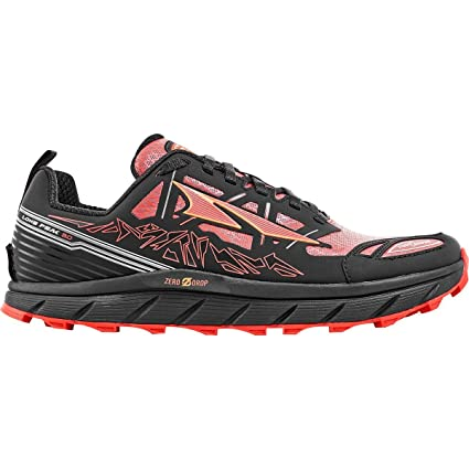 Altra Lone Peak 3.0 Low Neo Shoe - Men's Black/Orange 7
