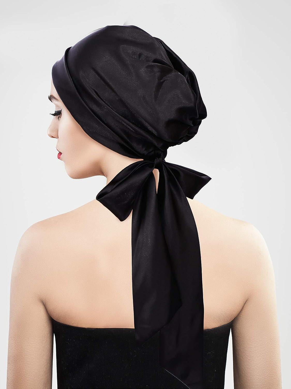 Cabeza de cuello de gasa para Mujeres Damas Cuadrado Bufanda Bufandas Estola Envolvente Suave shawlbl