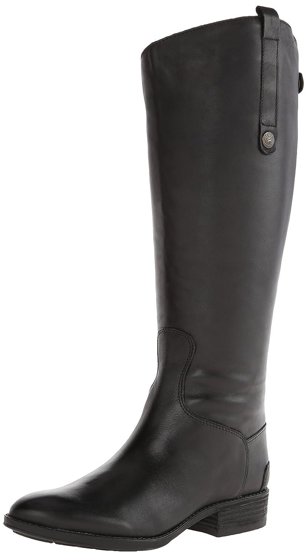 Black Sam Edelman Women's Penny 2 Wide Shaft Riding Boot
