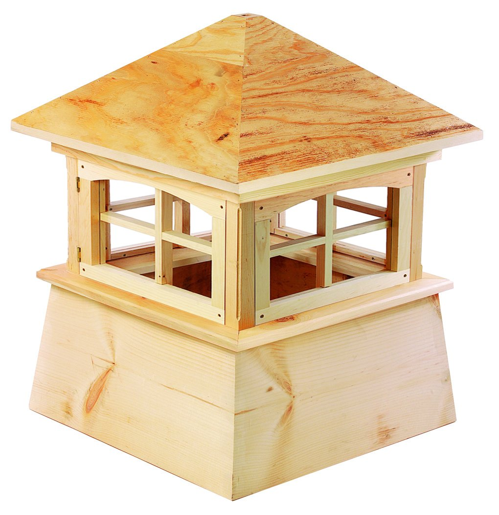 Good Directions Brookfield Wood Cupola 30'' x 43'' by Good Directions