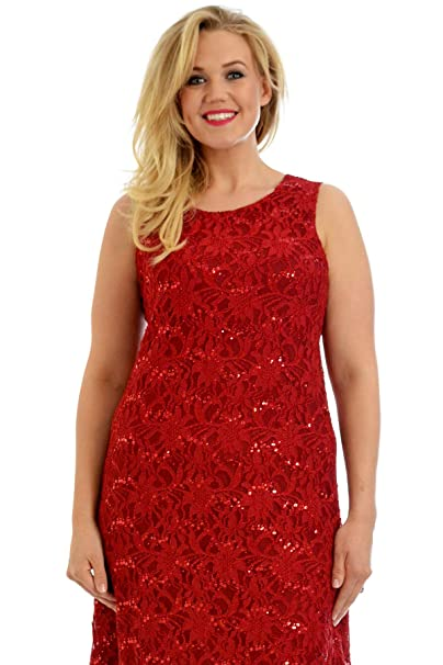 Vestidos de fiesta rojos tallas grandes