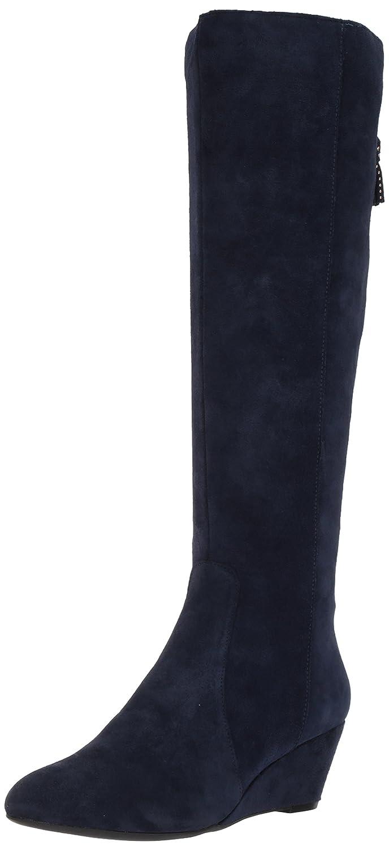 Anne Klein AK Sport Women's Azriel Suede Knee High Boot B0722Q84K7 10.5 B(M) US|Navy