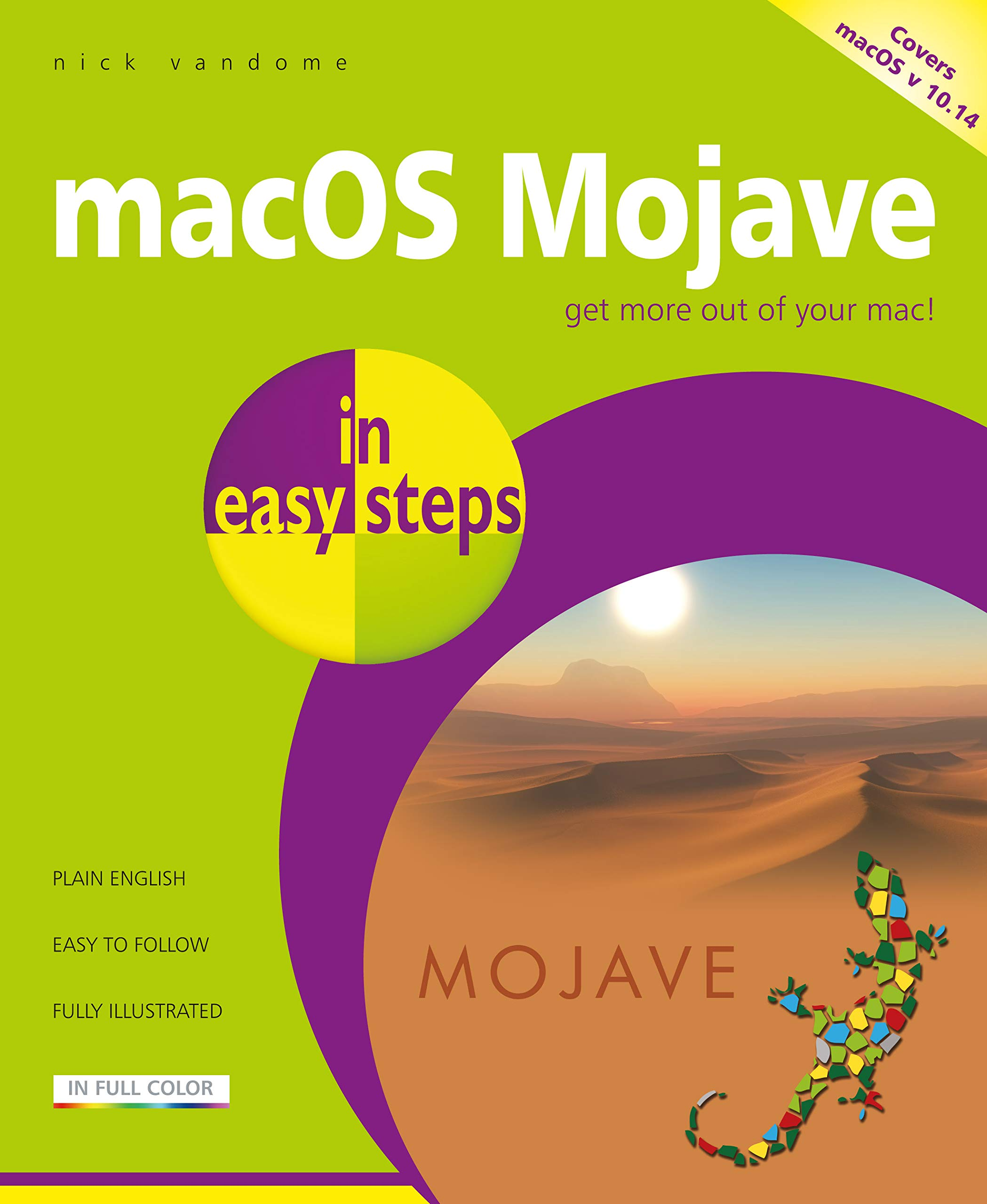 macOS Mojave in easy steps: Amazon co uk: Nick Vandome