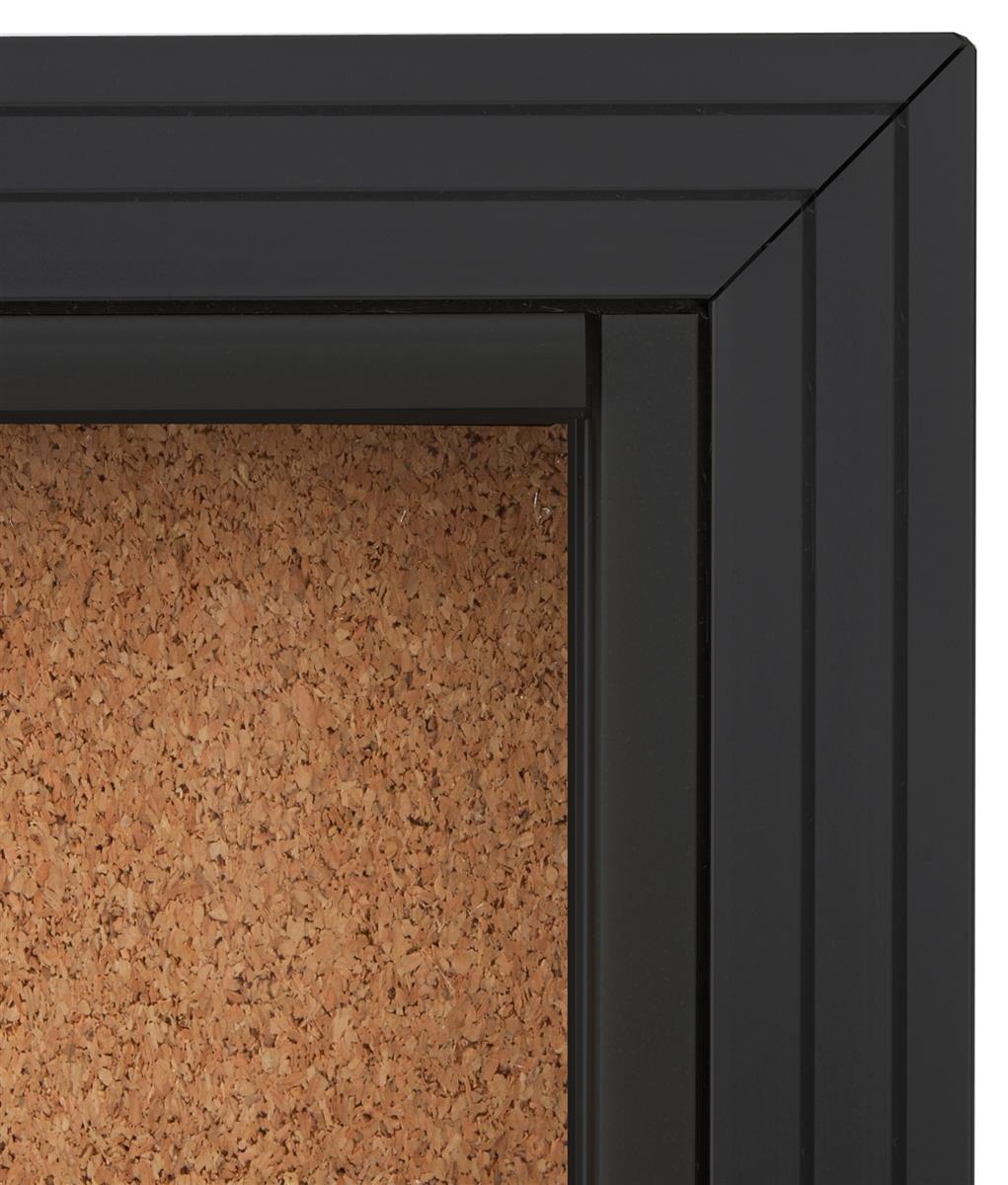 Amazon.com : Displays2go Enclosed Cork Board Sliding Glass Door 4\u0027 x 3\u0027 Locking Bulletin Board for Wall (CBSD43BK) : Enclosed Literature Board : Office ... & Amazon.com : Displays2go Enclosed Cork Board Sliding Glass Door ... Pezcame.Com