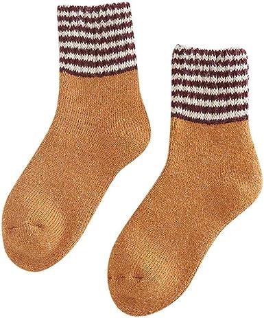 VJGOAL Calcetines de algodón para mujer Invierno Casual Moda Color ...