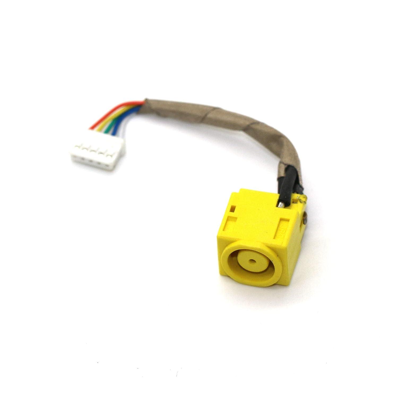 DNX Connecteur de Charge d'alimentation Compatible PC Portable Lenovo THINKPAD L430 L530_0001 câ ble, DC in Jack Power, Note-X