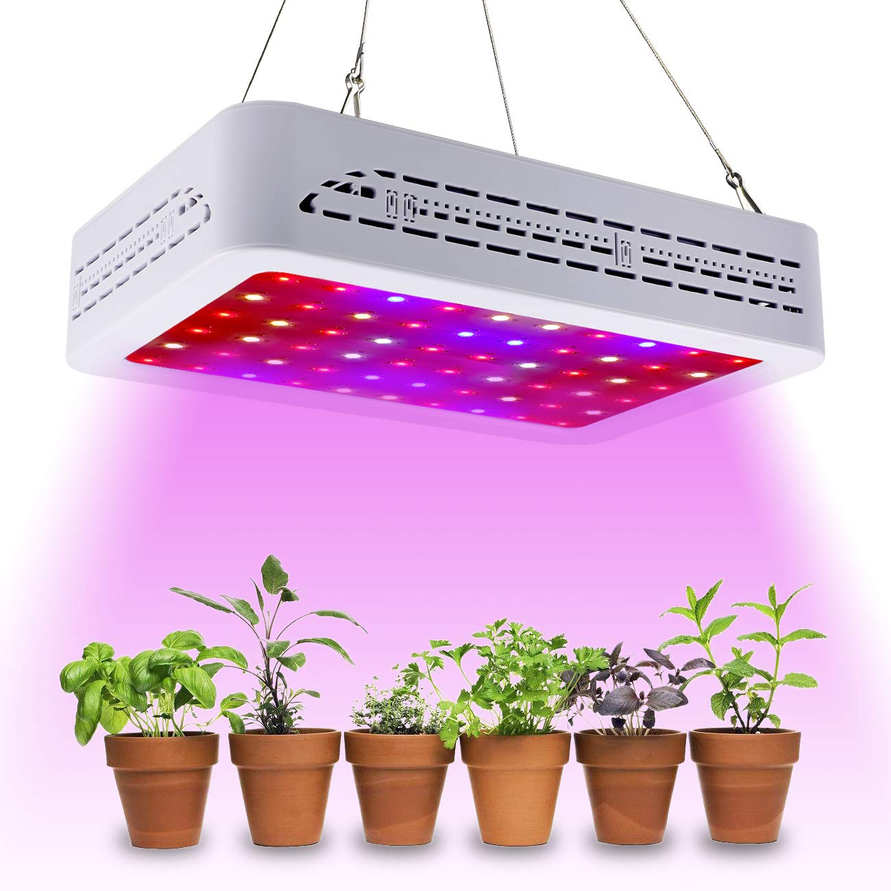quality design afbde 2cd24 Golspark 600w LED Plant Grow Light,Upgraded Full Spectrum Reflector-Series  Plant Light for Greenhouse Hydroponic Indoor Plant Veg and Flower