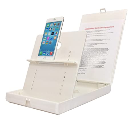 ScanJig – Document Scanning Stand - Phones/Tablets – Basic Model   Adjustable, Precise Image Alignment  Accurate Text Recognition