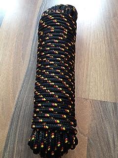 50M Bootsseil Tauwerk Polyester Flechtleine Bootsleine Festmacher 6//8//10//12//14mm