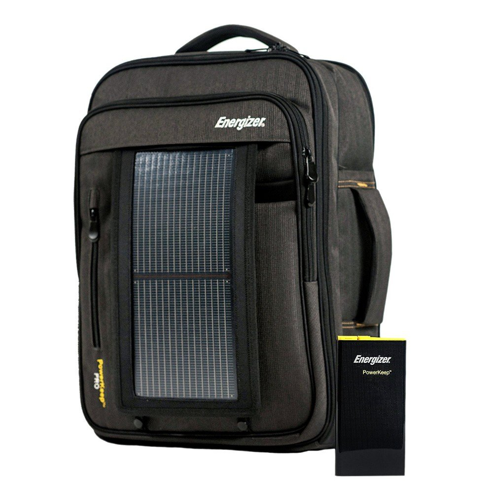 Mochila Maletín Solar Powerkeep Pro. Solar Powerkeep Pro Backpack. Energizer.: Amazon.es: Electrónica