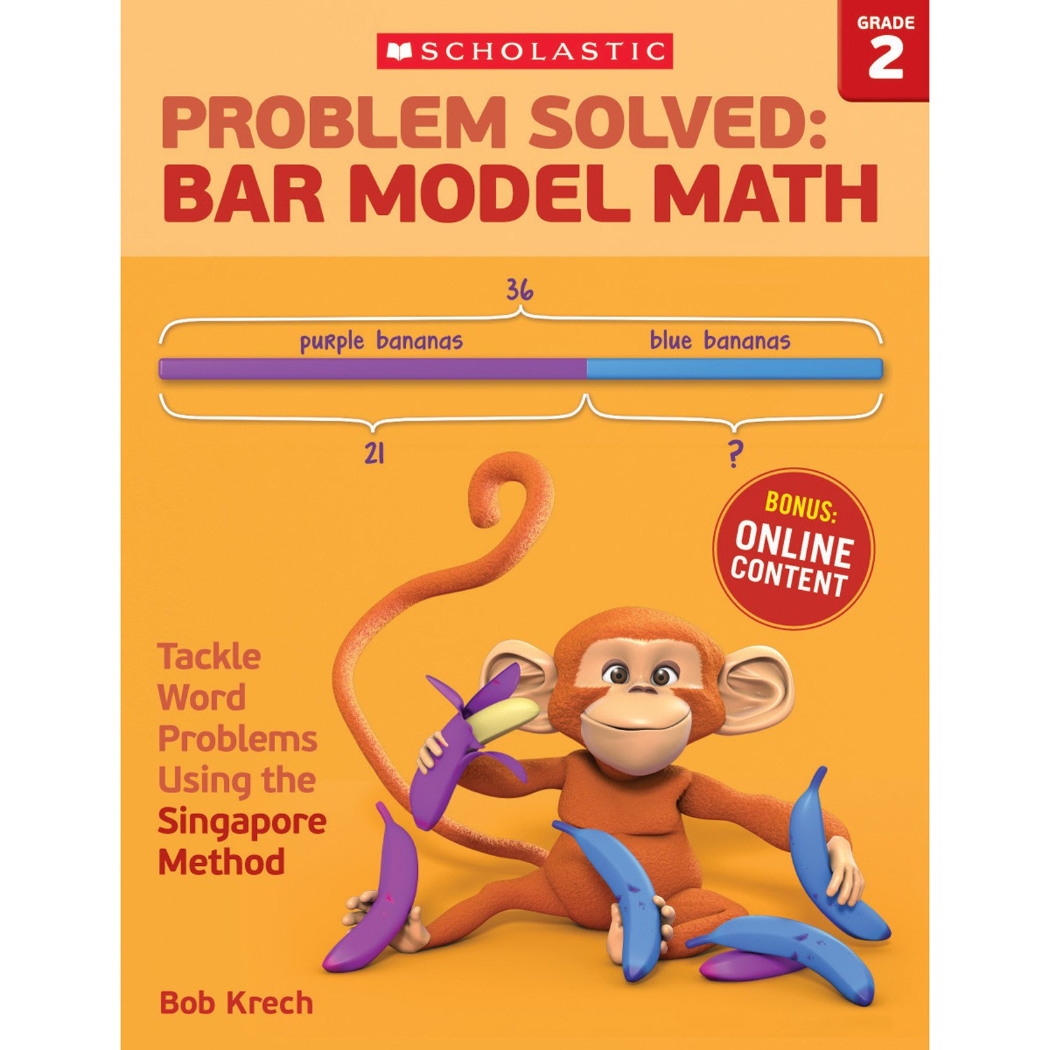 Amazon.com: Problem Solved: Bar Model Math Grade 2: Tackle Word ...