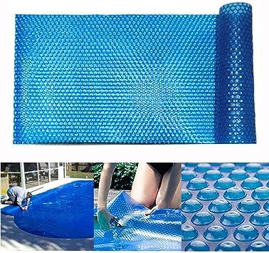 EXUVIATE Cobertor Solar para Piscinas Rectangulares Lona Térmica ...