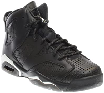 AIR Jordan 6 Retro BG (GS) 'Black Cat' 384665 020: Amazon