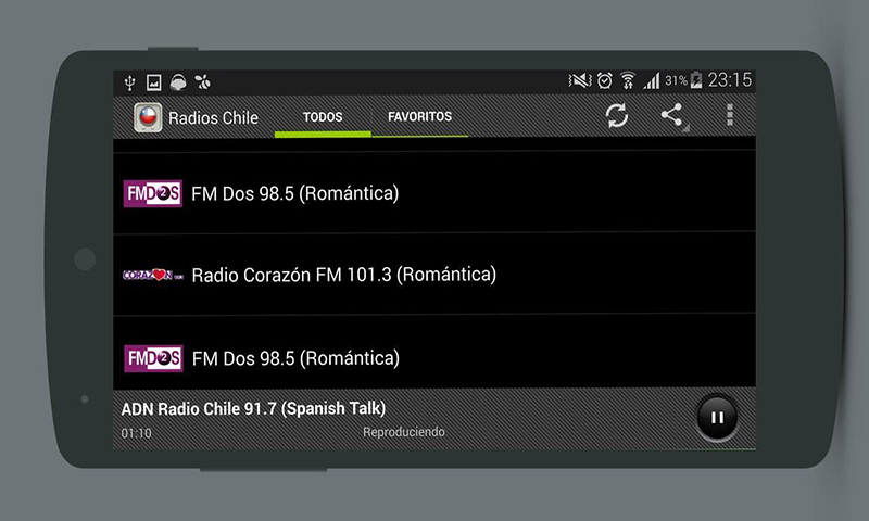 Amazon.com: Radios Chile - Top Chilean Radio Stations: Appstore for Android