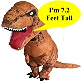 Inflatable Dinosaur Trex Costume Adult Size -Blow
