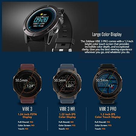Zeblaze Vibe 3 Pro Smartwatch - Colorido Touch Screen Sports ...