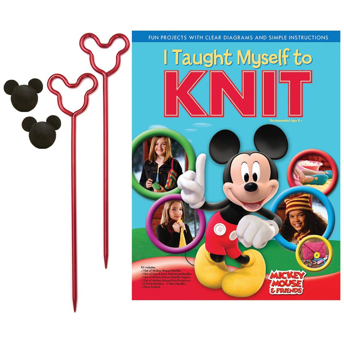 私は自分自身を編むディズニー ミッキー マウスと仲間を教え B001R50L3S