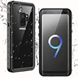 Temdan Waterproof Samsung Galaxy S9 Case,Clear Sound Quality Built-in Screen Protector IP68 Waterproof Support Wireless…