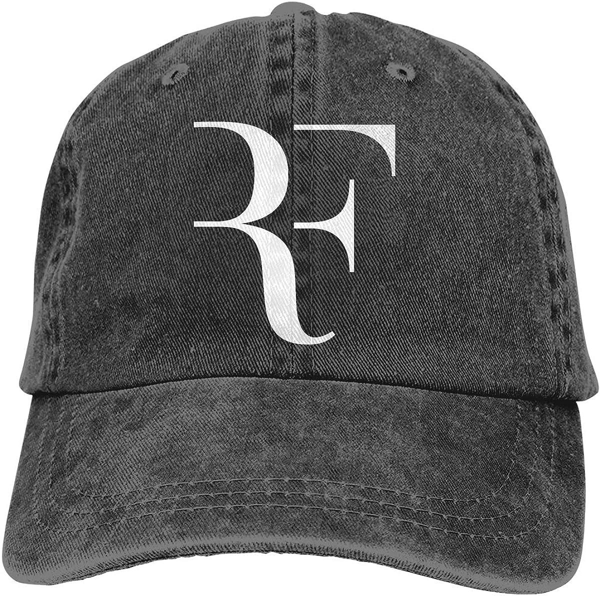 Sweetbgig Roger Federer Home Outdoor Fashion Cowboy Hat Black