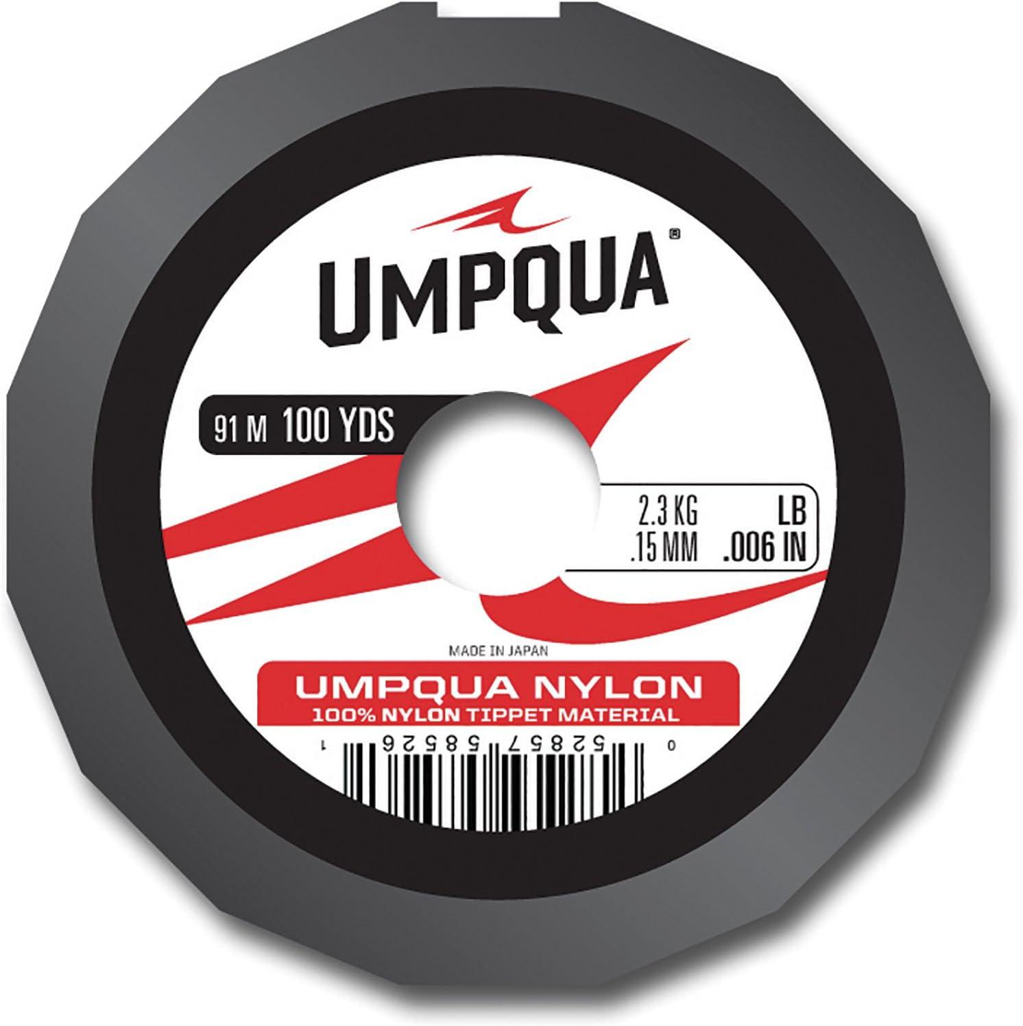 Umpqua Nylon Fly Fishing Tippet Material 0X 15lb 30yds