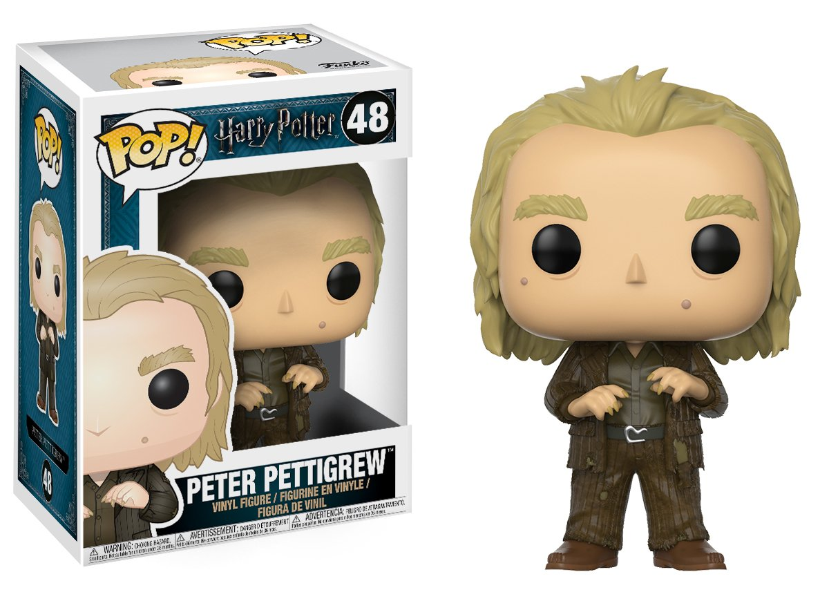 Funko Pop Movies Harry Potter-Peter Pettigrew Toy 14946 Accessory Toys /& Games