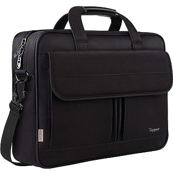 73843cabe Bolsa para ordenador portátil de 15,6 pulgadas, maletín resistente al agua,  bandolera