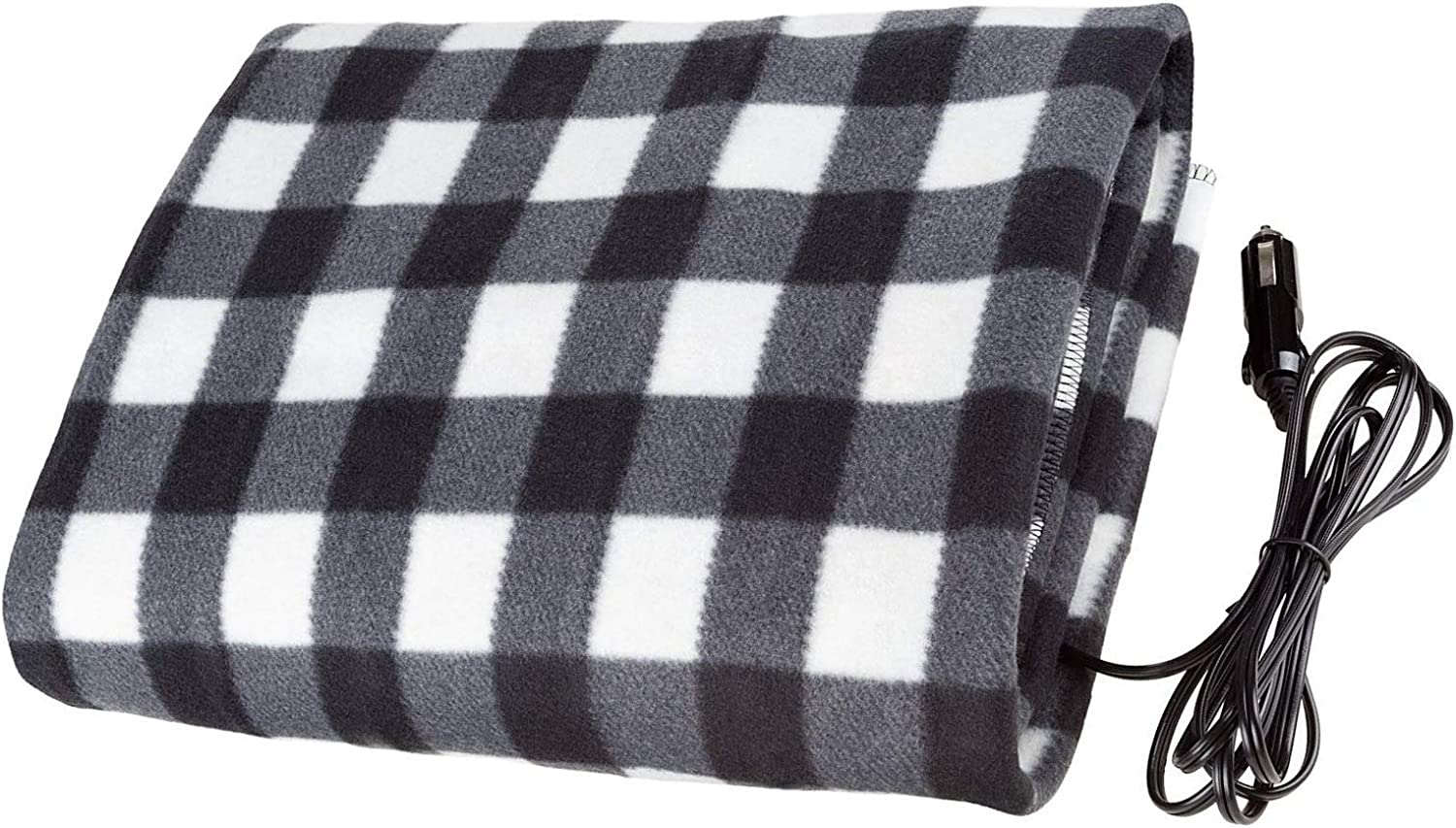 Car Electric Blanket Safety Low Voltage Heating Blanket Car Fleece Material with Switch Thermostat 12V Electric Warm Blanket