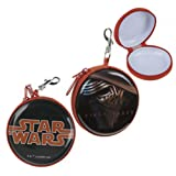 Official Licensed Boys Star Wars Black & Orange Coin Purse