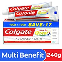 Colgate Total Advanced Health Anticavity Toothpaste - 240g (Saver Pack)