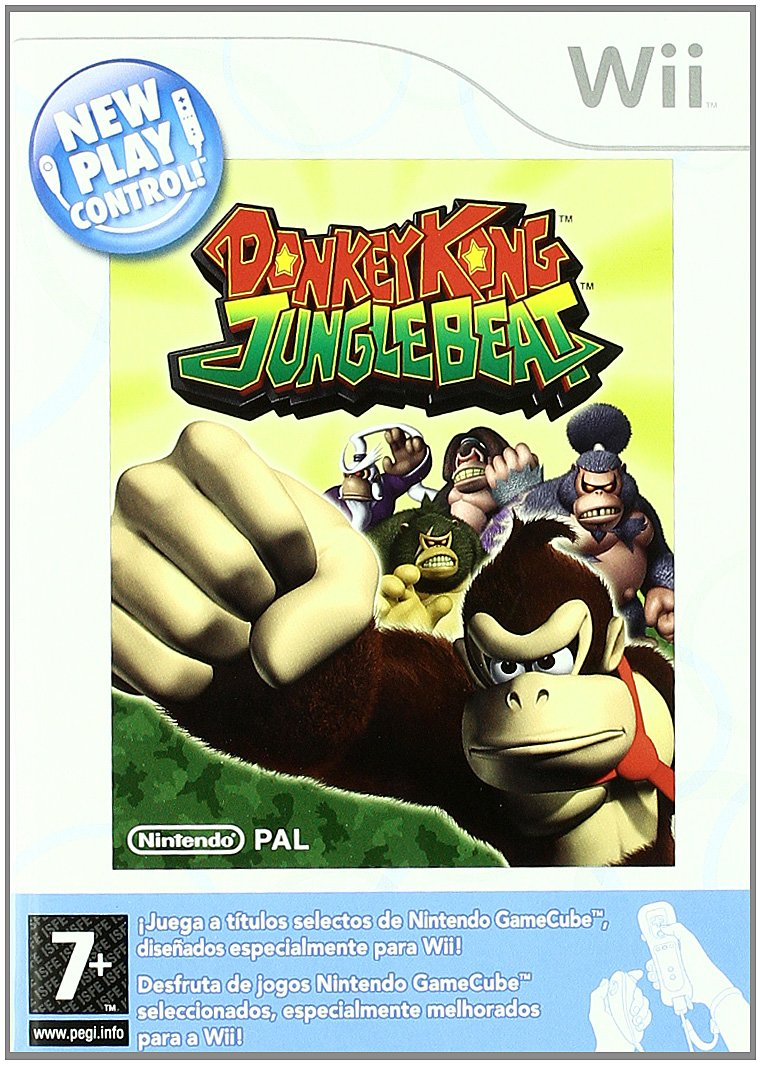 23203a23bf8 Donkey Kong Jungle Beat -New Play Control-  Spanish Import   Amazon.co.uk   PC   Video Games