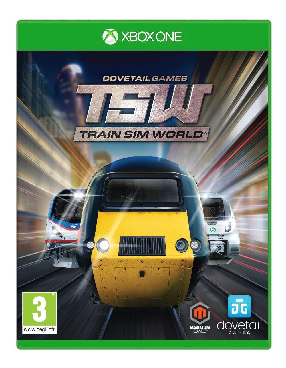 Train Sim World (Xbox One) (UK IMPORT) by Maximum Games (Image #1)