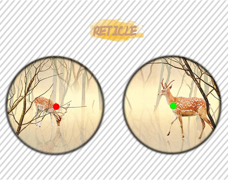 GW Tactical Area Mira de Punto Rojo y Verde de Airsoft con Montura de riel Picatinny de 20 mm