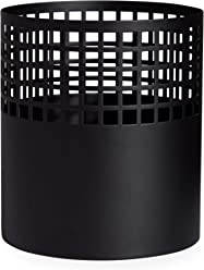 Now House by Jonathan Adler Grided Vase, Black