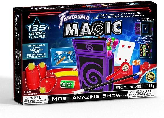 Fantasma 606eu Most Amazing Show 135 Tricks Includes Instructional Video Download Magic Kits Accessories Amazon Canada