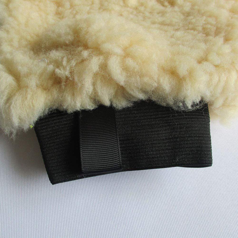 mAjglgE Gant de Lavage en Peluche en Microfibre pour Voiture
