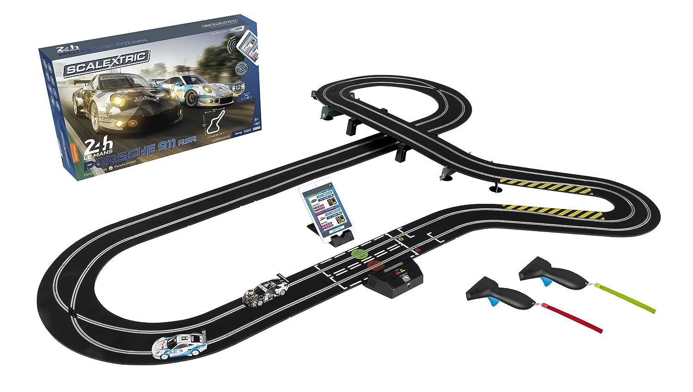 Scalextric C1359 Arc Air 24hr Le Mans Porsche 911 132 Slot Car Race Mirror Wiring Track Playset C1359t 24h Set Toys Games