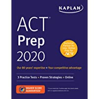 ACT Prep 2020: 3 Practice Tests + Proven Strategies + Online