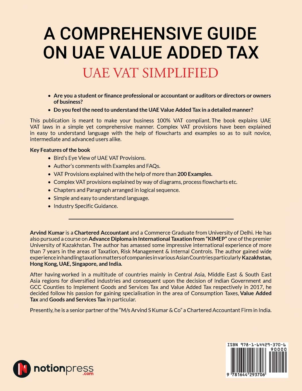 A Comprehensive Guide On Uae Value Added Tax Uae Vat