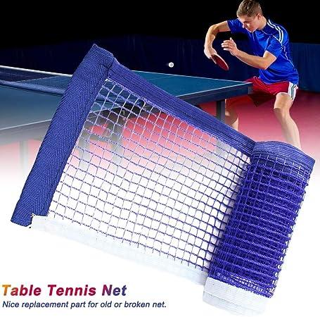 Urstory1 Red de tenis de mesa portátil, red de ping pong, repuesto para mesa de ping pong, escuela, hogar, oficina, escritorio, fácil de instalar: Amazon.es: Hogar